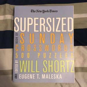 NEW NYT SUPERSIZED CROSSWORD PUZZLE BOOK